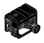 Briggs and Stratton Generators Parts Briggs and Stratton 030209-0 Parts