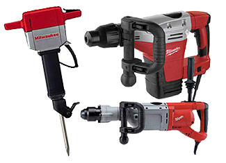 Milwaukee  Demolition Tools