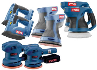 Ryobi Sander & Polisher Parts Cordless Sander & Polisher Parts
