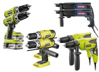 Ryobi  Drill & Driver Parts