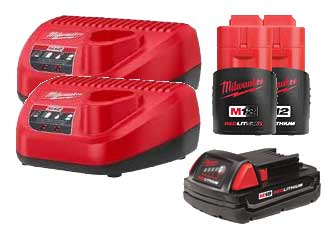 Milwaukee  Battery and Charger parts