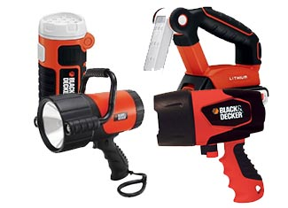 Black and Decker  Flashlight Parts