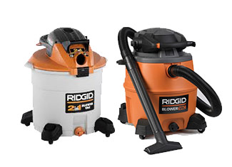 Ridgid  Blower and Vacuum Parts