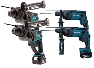 Makita Rotary Hammer Parts Cordless Rotary Hammer Parts