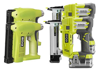 Ryobi Nailer & Stapler Parts Cordless Nailer & Stapler Parts
