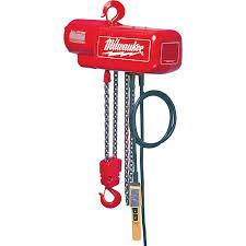 Milwaukee Electric Chain Hoist Milwaukee 9571-(MJLC) Parts