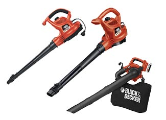 Black and Decker  Blower & Vacuum Parts