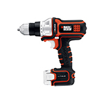 Black and Decker Cordless Drill & Driver Parts Black and Decker BDCDMT112-Type-1 Parts