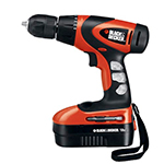 Black and Decker Cordless Drill & Driver Parts Black and Decker BDG1800-Type-1 Parts