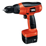 Black and Decker Electric Drill & Driver Parts Black and Decker CD1200-Type-1 Parts