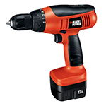 Black and Decker Cordless Drill & Driver Parts Black and Decker CD1200SK-Type-1 Parts