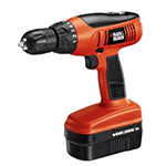 Black and Decker Cordless Drill & Driver Parts Black and Decker CD1800SB-Type-1 Parts