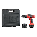 Black and Decker Cordless Drill & Driver Parts Black and Decker CD231K-Type-1 Parts