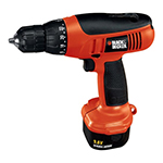 Black and Decker Cordless Drill & Driver Parts Black and Decker CD9600K-2-Type-4 Parts