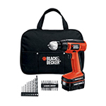 Black and Decker Cordless Drill & Driver Parts Black and Decker CDC120ASB-Type-1 Parts