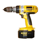 DeWalt Cordless Hammer Drill Parts Dewalt DW984KV-2-Type-1 Parts