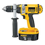 DeWalt Cordless Hammer Drill Parts Dewalt DW988K-2H-Type-1 Parts