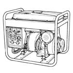 Makita Generator Parts Makita G3510R Parts