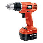 Black and Decker Cordless Drill & Driver Parts Black and Decker GC1200-Type-1 Parts