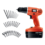Black and Decker Cordless Drill & Driver Parts Black and Decker GC1800VA-Type-2 Parts
