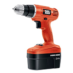 Black and Decker Cordless Drill & Driver Parts Black and Decker GC2400-Type-1 Parts