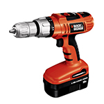 Black and Decker Cordless Drill & Driver Parts Black and Decker HP180K-BR-Type-1 Parts