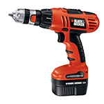 Black and Decker Cordless Drill & Driver Parts Black and Decker HPD1202KF-Type-1 Parts