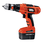 Black and Decker Cordless Drill & Driver Parts Black and Decker HPD1402KF-Type-1 Parts