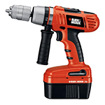 Black and Decker Cordless Drill & Driver Parts Black and Decker HPD2402-Type-1 Parts