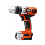 Black and Decker Cordless Drill & Driver Parts Black and Decker LD112-BR-Type-1 Parts