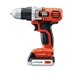 Black and Decker Cordless Drill & Driver Parts Black and Decker LD116-B2C-Type-1 Parts