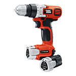 Black and Decker Cordless Drill & Driver Parts Black and Decker LDX112C-2-Type-1 Parts