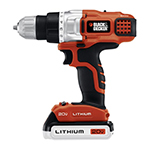 Black and Decker Cordless Drill & Driver Parts Black and Decker LDX220SB-Type-1 Parts