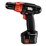 Black and Decker Cordless Drill & Driver Parts Black and Decker PS1200K-Type-2 Parts