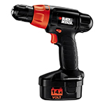 Black and Decker Cordless Drill & Driver Parts Black and Decker PS1440K-Type-2 Parts
