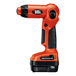 Black and Decker Cordless Drill & Driver Parts Black and Decker XD1200K-Type-1 Parts