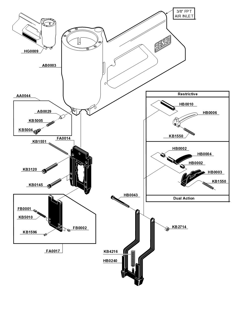 090001N-senco-PB-1Break Down