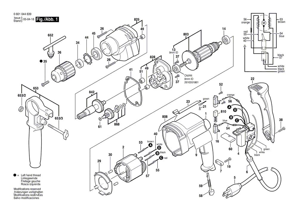 Buy Bosch 1031vsr 3  8 Inch 0
