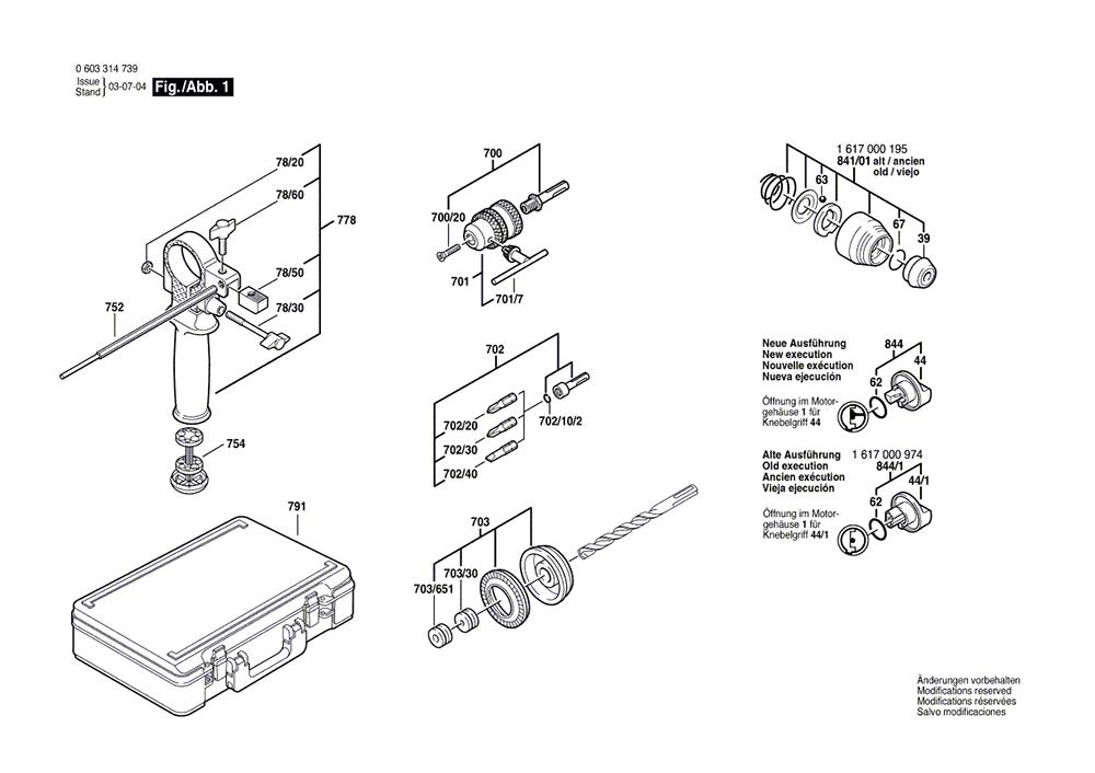 11200VSR(0603314739)-bosch-PB-1Break Down