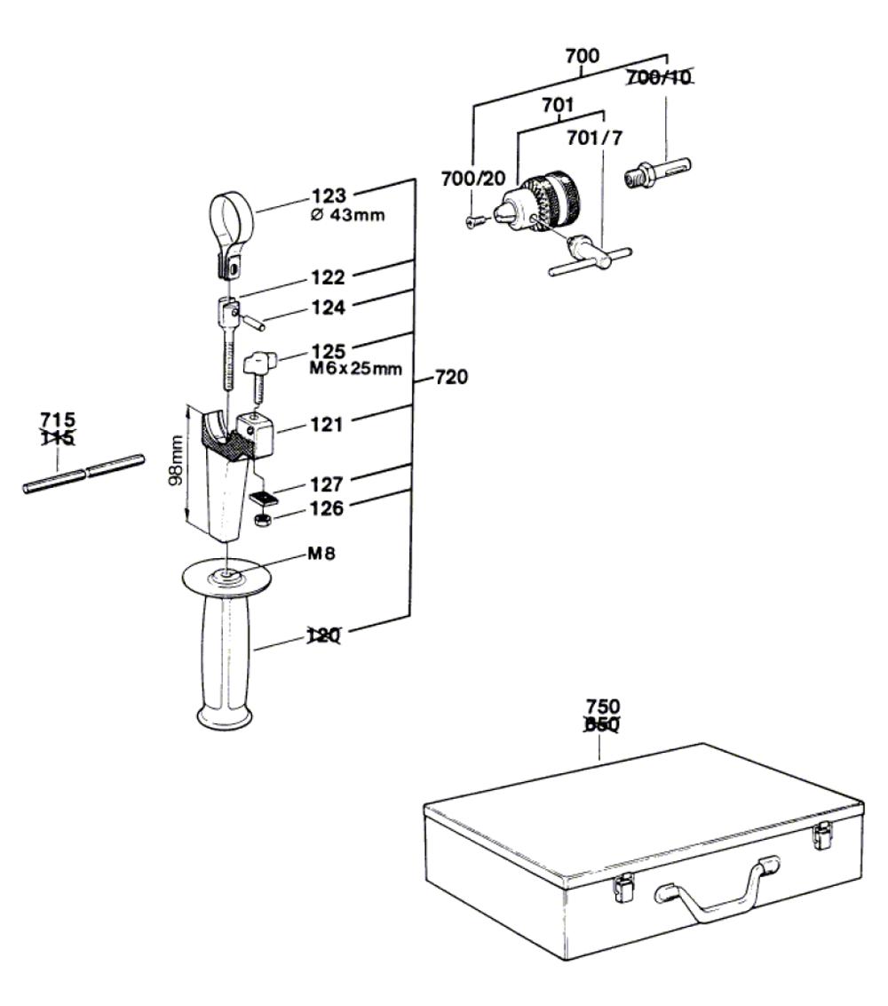 11207VS-(0611207534)-Bosch-PB-1Break Down