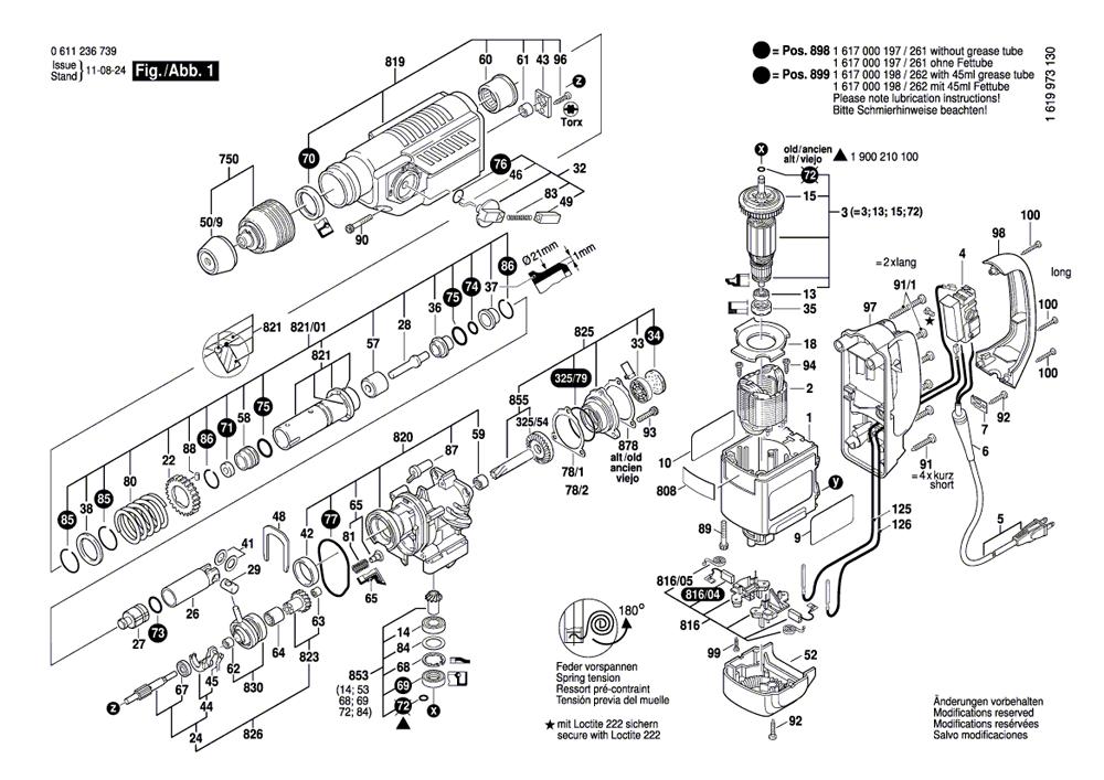 buy bosch 11236vs rotary hammer 1 8 inch sds