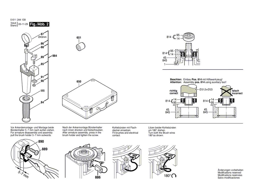11244E-(0611244139)-Bosch-PB-1Break Down