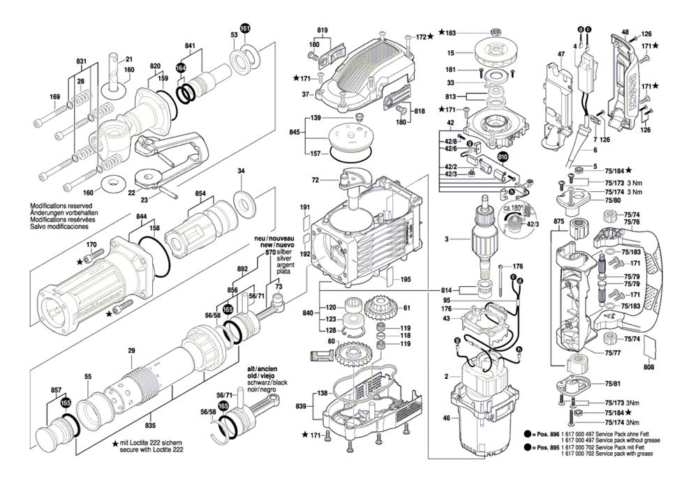 Buy Bosch 11335-(3611C35010) 35lb JACK Breaker Hammer ...
