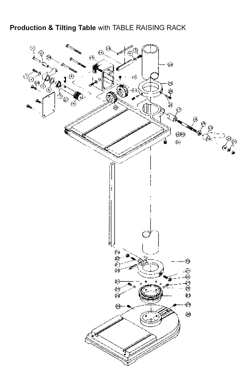 buy powermatic 1200hd  20inch   replacement tool parts