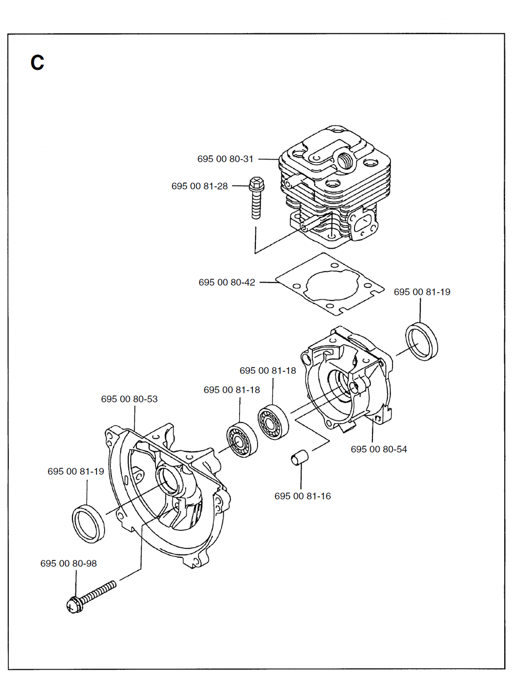 125BT-T1-Husqvarna-PB-2Break Down