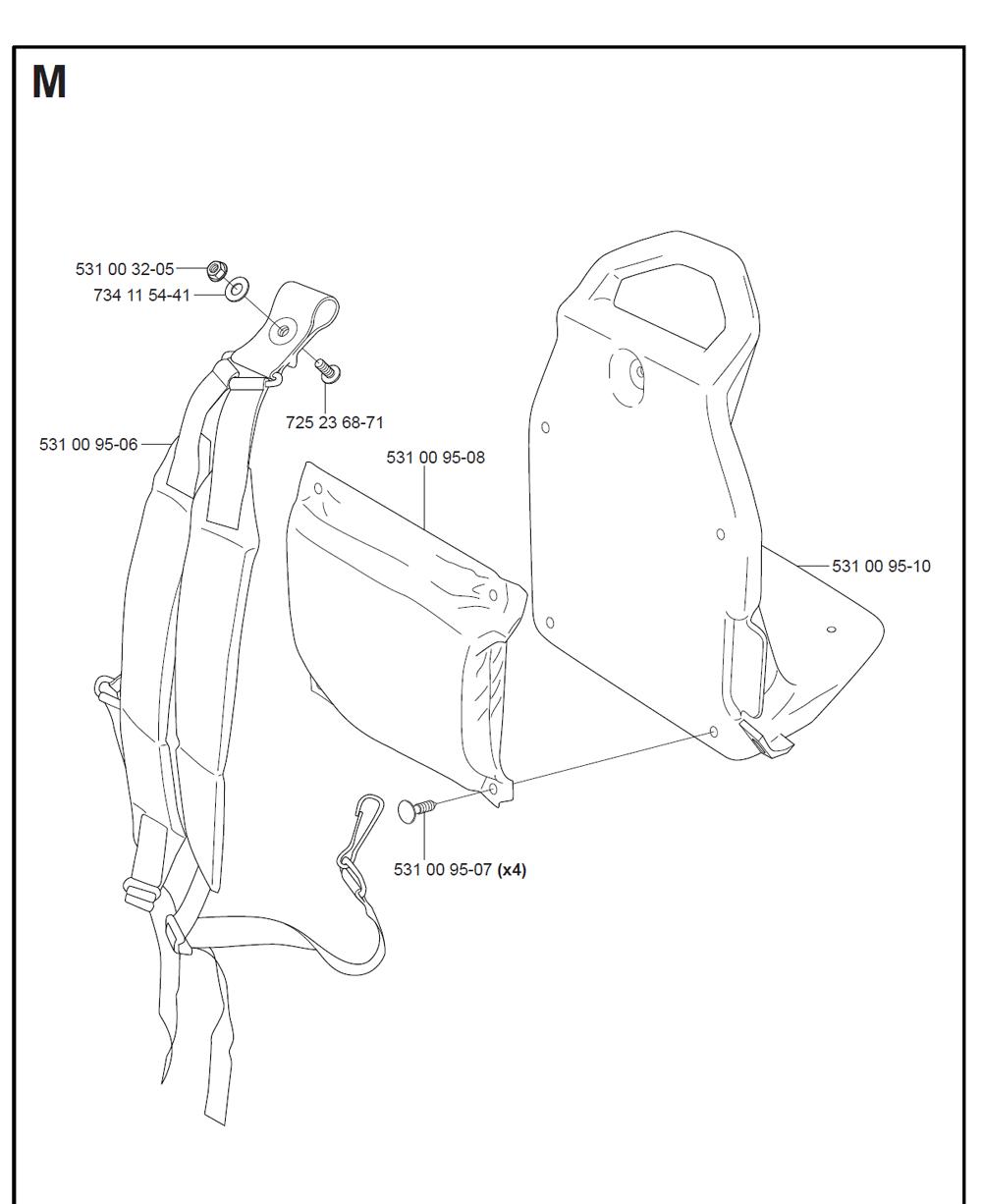 125BT-T2-Husqvarna-PB-8Break Down