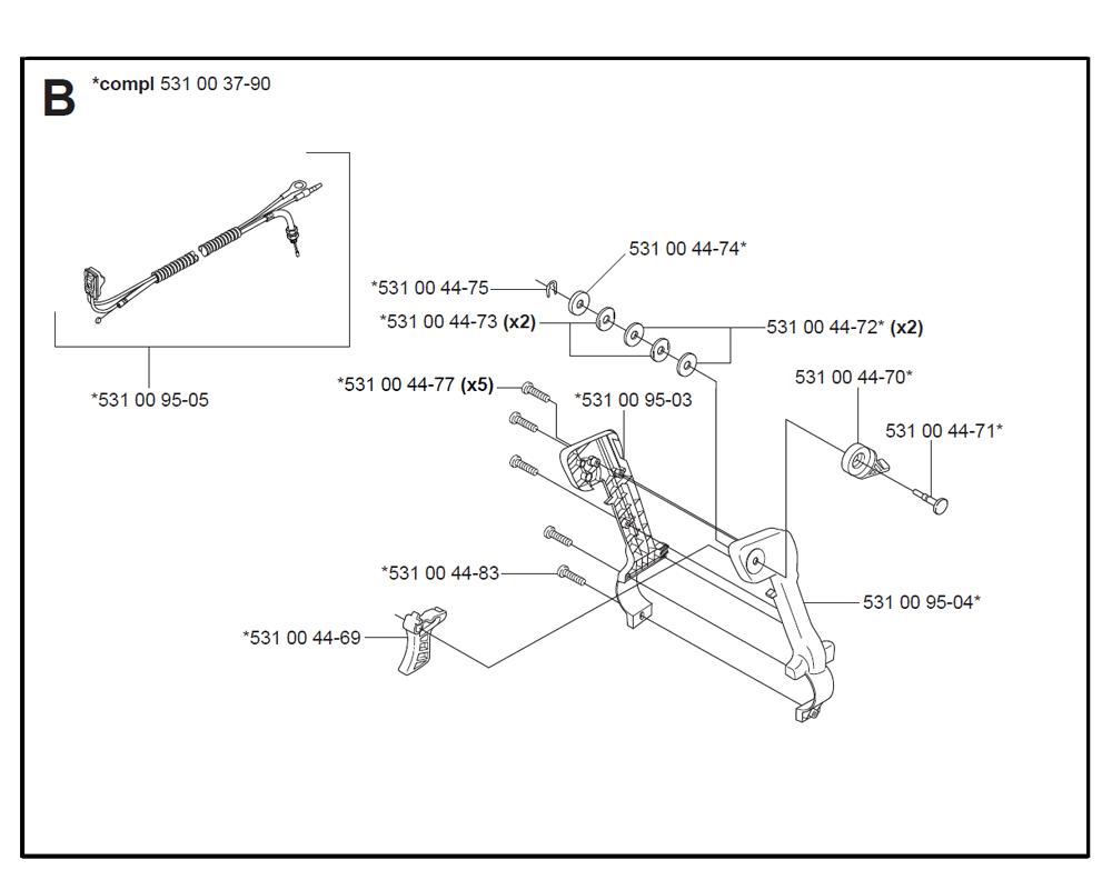 125BT-T3-Husqvarna-PB-1Break Down