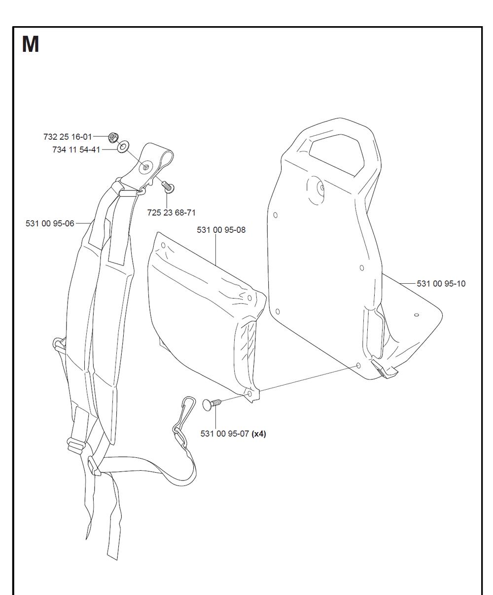 125BT-T4-Husqvarna-PB-10Break Down