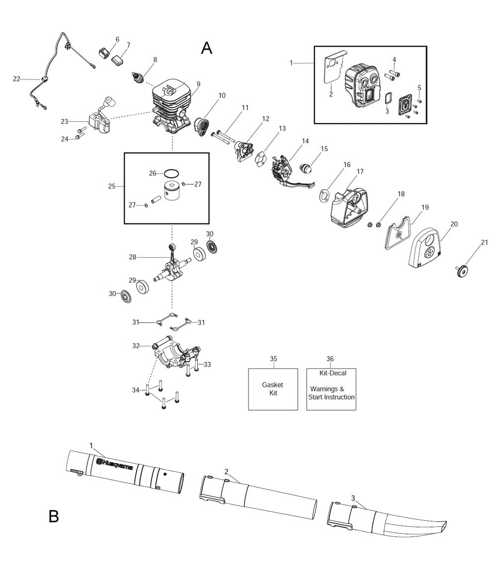 125BX-T1-Husqvarna-PB-1Break Down