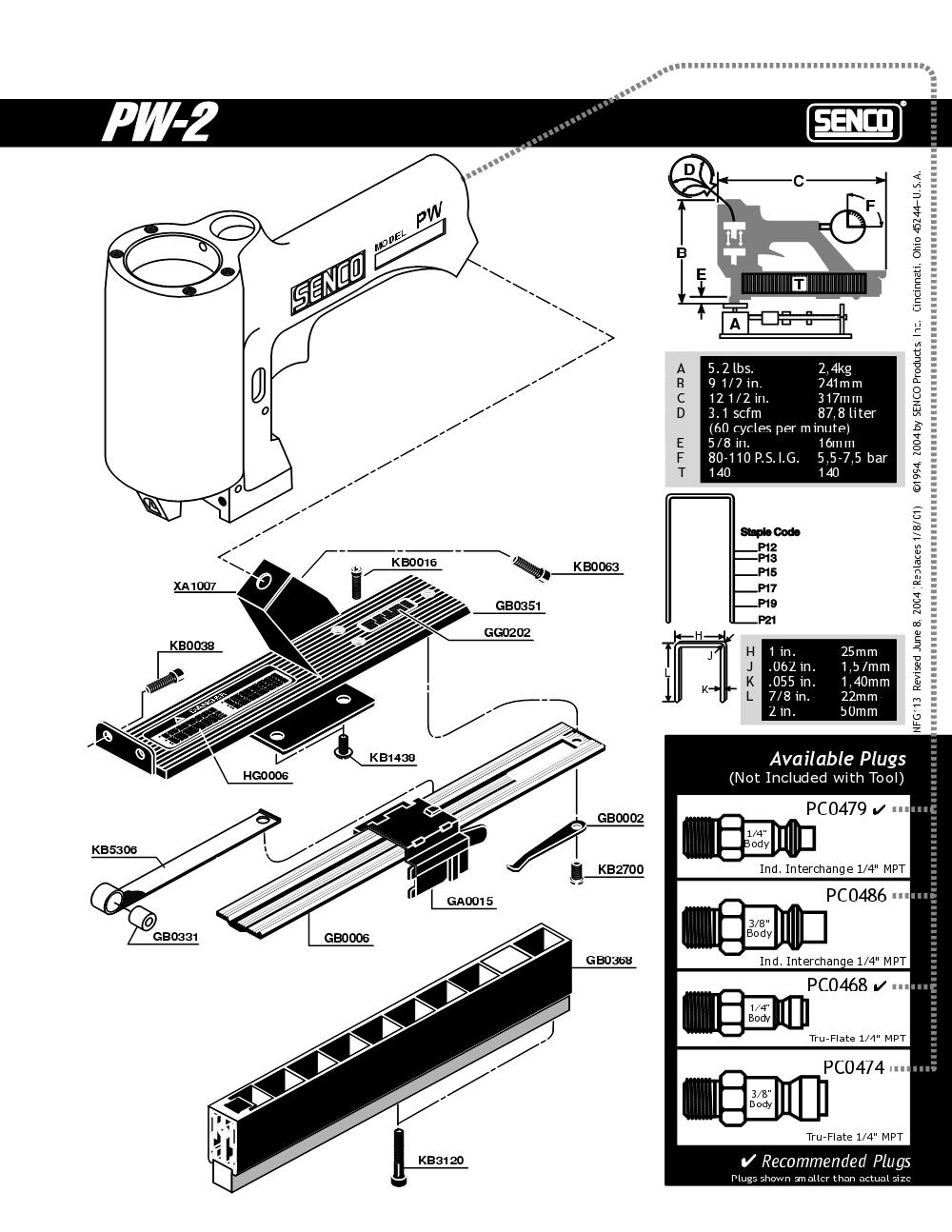 130064N-senco-PB-1Break Down